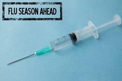 Złożony wizerunek walka grypa obrazy stock