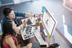 Złożony wizerunek złożony wizerunek budowy strony internetowej interfejs Fotografia Royalty Free
