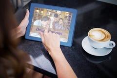 Złożony wizerunek złożony wizerunek online kursy zdjęcia royalty free