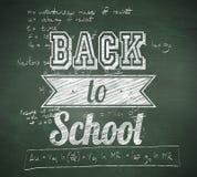 Złożony wizerunek z powrotem szkoły wiadomość Fotografia Stock