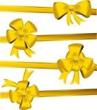 złociści łęków boże narodzenia Zdjęcia Royalty Free