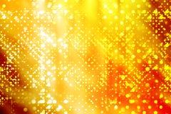 złoci światła Fotografia Stock