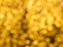 złoci światła Zdjęcie Royalty Free