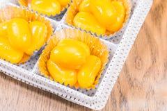 Złoci Jackfruit ziarna, Spotykający Khanoon: TAJLANDZKI deser zdjęcie royalty free
