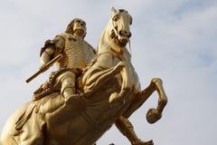 Złoci jeźdzowie Drezdeńscy, Niemcy fotografia royalty free