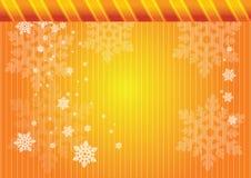złoci płatek śniegu ilustracja wektor