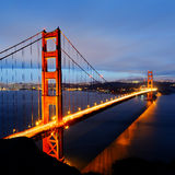 Złoci Wrota most, San Fransisco fotografia stock