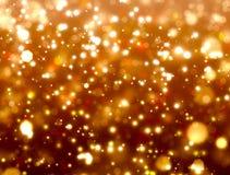 Złocista świąteczna fantazja Obraz Royalty Free