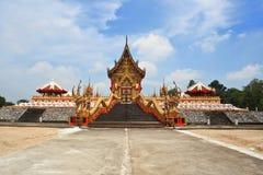 Złocista świątynia. Fotografia Royalty Free