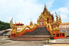 Złocista świątynia. Fotografia Stock