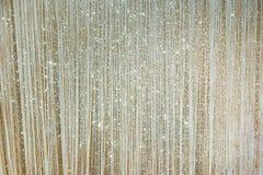 Złocista błyskotanie błyskotliwości tła ściana Obrazy Stock