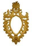Złocista barok rama Zdjęcia Royalty Free