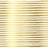 Złocista folia wykłada na białym tle, Złocista tekstura Złocistej folii linii wzór Złocista folia wykłada Geometryczną tapetę ilustracji