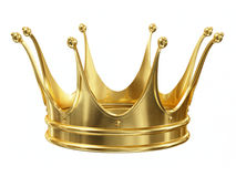 Złocista korona royalty ilustracja