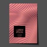 Złocista Kruszcowa glansowana tekstura Różany kwarc wzór błyszczący abstrakcjonistyczny tło Luksusowy iskrzasty tło royalty ilustracja