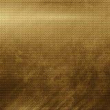 Złocista metal siatka Obrazy Stock