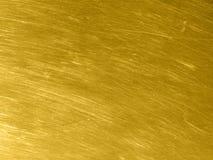 Złocista metal tekstura z kółkowymi narysami zdjęcia royalty free
