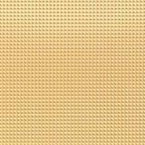 Złocista ostrosłupa wzoru tekstura Zdjęcia Stock
