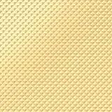Złocista ostrosłupa wzoru tekstura Zdjęcie Stock