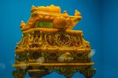 Złocista szkatuła imperatorowa Zdjęcie Royalty Free