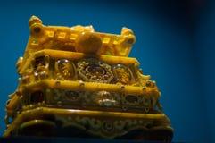 Złocista szkatuła imperatorowa Fotografia Royalty Free