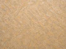 Złocista tło tekstura tła prętowa horyzontalna obfitolistna papieru ściany tapeta Obraz Stock