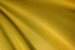 złocista tkaniny tekstura Zdjęcia Royalty Free