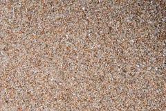 Złocistego beryl żwiru tekstury mały tło Zdjęcie Stock