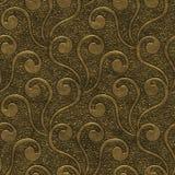 Złocistego metalu bezszwowa tekstura z wzorem ilustracji