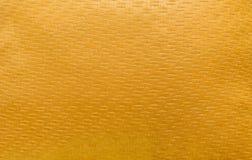 złocistej kanapy tkaniny bieliźniana tekstura dla tła Zdjęcie Royalty Free