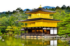 Złocisty świątynny Japan Fotografia Royalty Free