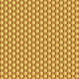 Złocisty błyszczący szablon Łozinowy złocisty bezszwowy wzór abstrakcjonistyczna geometryczna tekstura złote wstążki Retro roczni ilustracja wektor