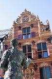 Złocisty biuro w Groningen mieście, holandie Obrazy Stock