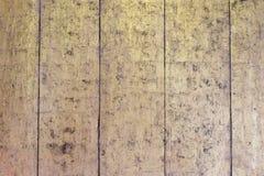 Złocisty drewniany tło Obraz Stock