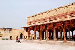 Złocisty fort, Jaipur India Obraz Stock