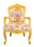 Złocisty krzesło zdjęcia royalty free