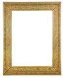 złocisty obrazek matrycujący drewniany Zdjęcia Royalty Free