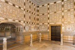 Złocisty pałac, Jaipur, Rajasthan stan, India Obrazy Stock