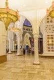 Złocisty souk wśrodku Dubaj centrum handlowego Zdjęcia Royalty Free