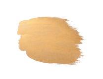 złocisty tekstury muśnięcia uderzenia projekt Zdjęcia Stock