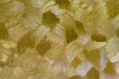 Złocisty tekstury tło Obrazy Royalty Free