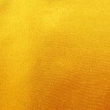 Złocisty tkanina jedwab dla tła Zdjęcie Stock