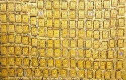 Złocisty wizerunek Buddha obrazy stock