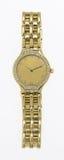 złocisty zegarek obraz royalty free