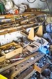 złom cluttered pokój obraz royalty free