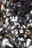 złomowa stali przemysłowej zdjęcia stock