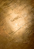 złota ściana obraz royalty free