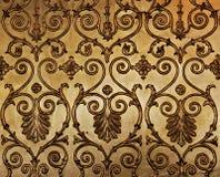 złota ściana Zdjęcia Stock