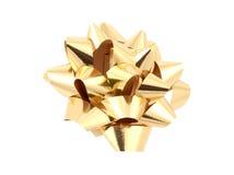 złota ścinku ścieżka bow zdjęcia royalty free