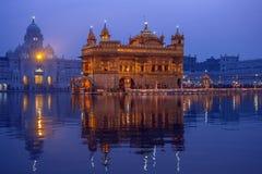 Złota świątynia Amritsar, Pubjab, India - obraz stock